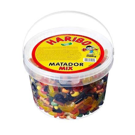 Højmoderne Haribo Matador Mix 2,5 kg DI-03
